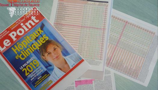 Magazine le point - palmarès 2019 des hôpitaux