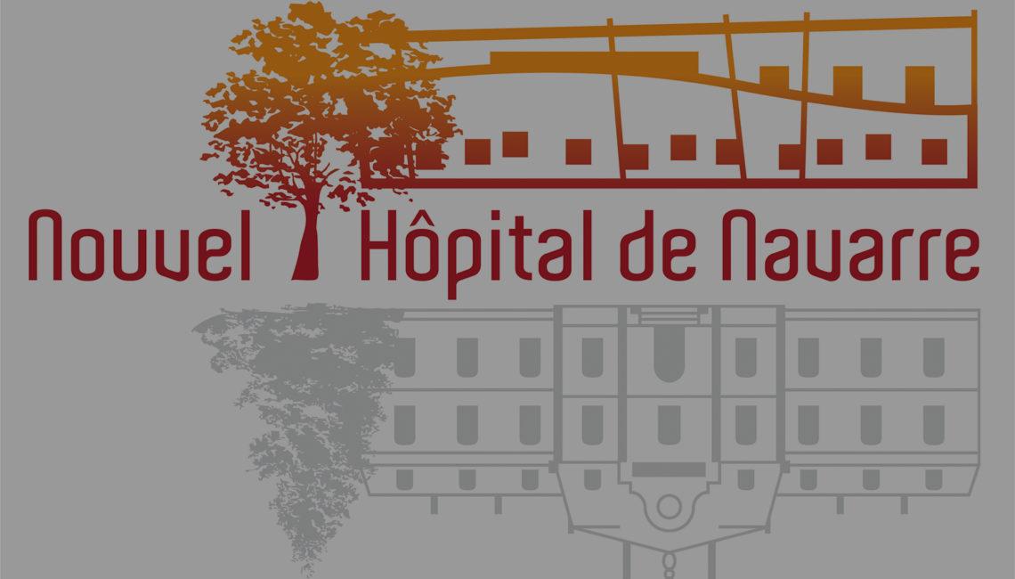 charte graphique - utilisation du logo Nouvel Hôpital de Navarre