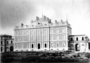 le palais de l'administration - Histoire du NHN