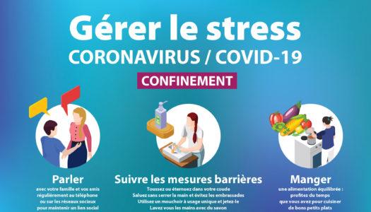 Covid19 - gérer son stress