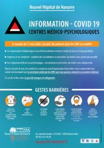 Covid19- déconfinement en CMP - Nouvel Hôpital de navarre