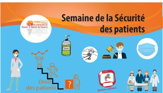 Semaine Sécurité des Patients avec QR CODE
