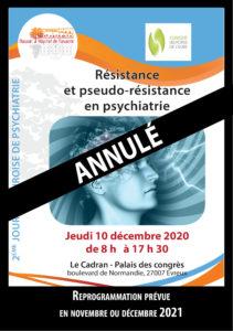 Journée de psychiatrie Euroise 2020 annulée