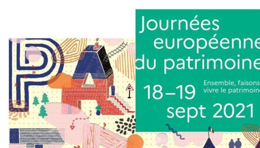 Journées Européennes du Patrimoine 18 et 19 septembre 2021